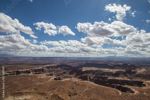 Tuinposter Diepbruine Canyonlands