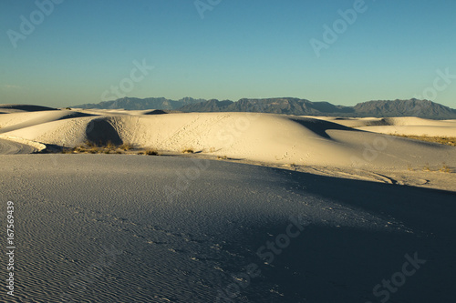 Foto op Canvas Blauwe jeans White Sands