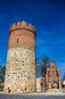 canvas print picture - Mittenwalde, Pulverturm und Berliner Tor
