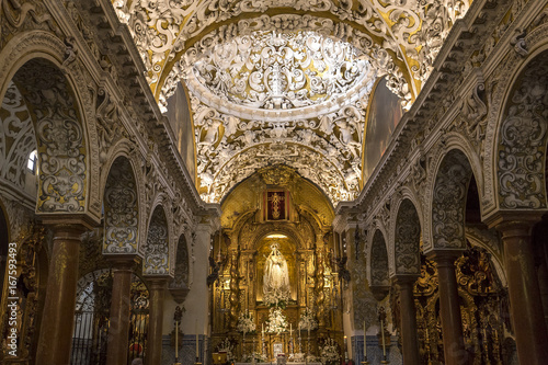 Santa Maria la blanca church, Seville, spain