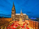 Weihnachtsmarkt in Köln, Deutschland - 167593659