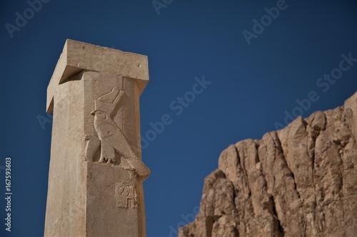 Temple pillar - Dendera