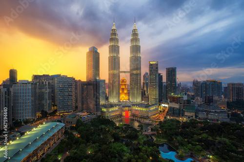 Malaysia cityscape Poster