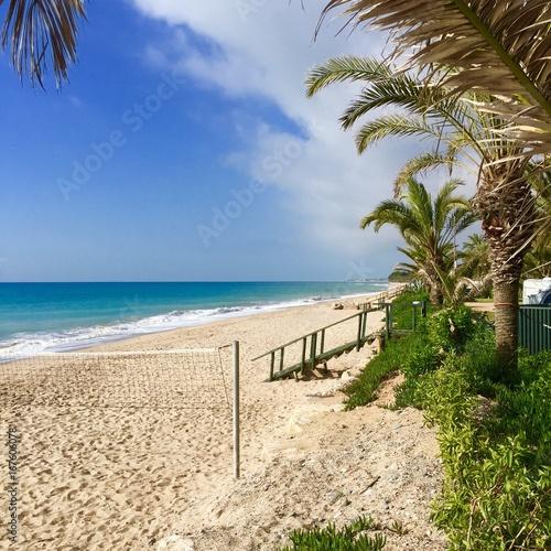 Foto op Aluminium Tropical strand Meersicht