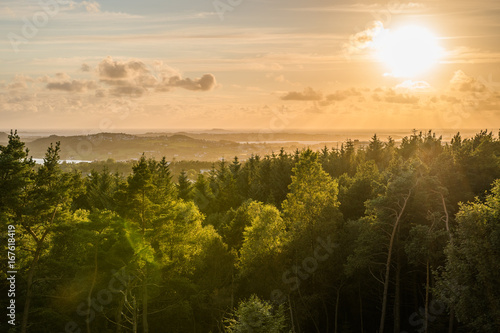 Staande foto Beige Sunset Stavanger