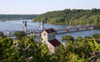 Looking Down Over the St. Croix River