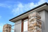 Modern architecture exterior details in Australia - 167627290