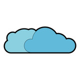 clouds icon image