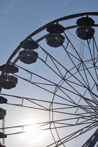 Tuinposter Amusementspark Ferris Wheel