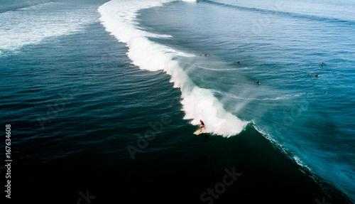 Plexiglas Bali Bali, surfing