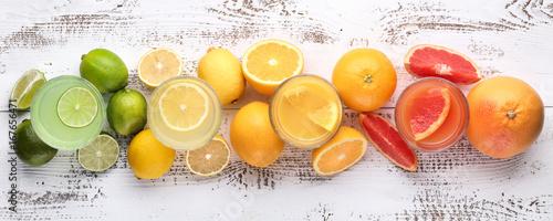 Citrus and lemon juice - 167656471