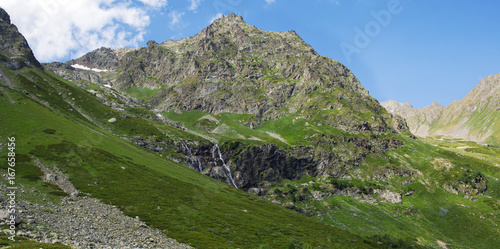 Mountains of the Caucasus, Arkhyz.