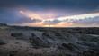 Quadro Sonnenuntergang über den Klippen