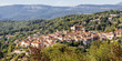 Typical village of the provencal hinterland - 167669216
