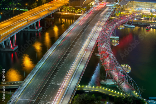 Bridges in Singapore Poster