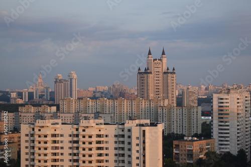 Виды города Москвы