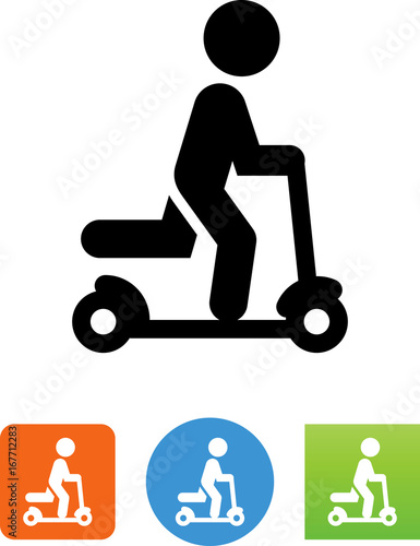 Scooter Icon - Illustration