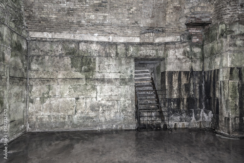 Old abandoned dungeons or catacombs. © Denis Rozhnovsky