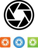 Shutter Icon - Illustration - 167712830