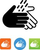 Wash Hands Icon - Illustration - 167718299