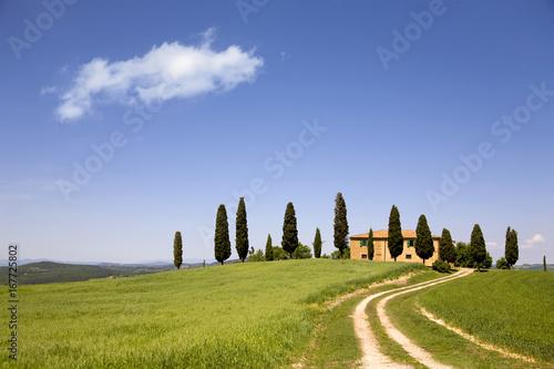 Tuinposter Toscane Typisch Toskana