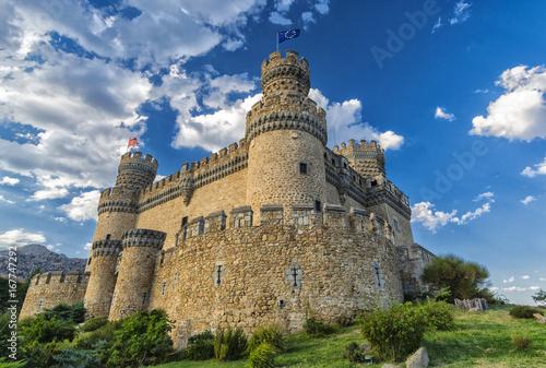 Castillo de los Mendoza,Madrid