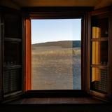 Okno na krajobraz Toskanii