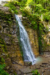 Photo of hight waterfall in Carpathian mountains - 167756413