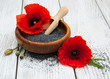 Quadro Bowl with poppy seeds
