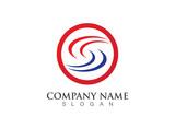 S Letter Logo Faster symbol