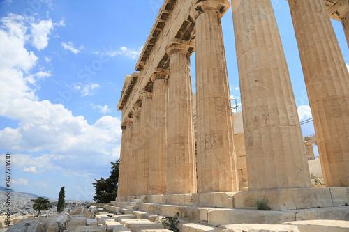Staande foto Athene acropolis