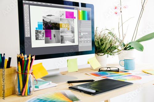 Graphic design studio Poster