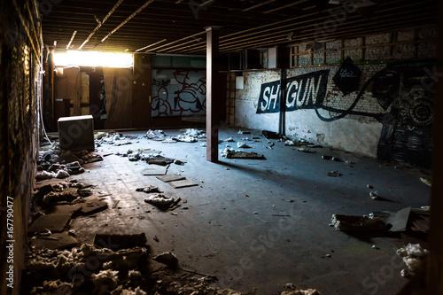 Empty building, urbex