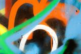 Street art - graffiti on the wall