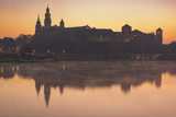Royal Palace in sunrise time in Krakow - 167798694