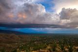A Monsoon storm in Arizona