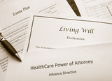 Legal and estate planning documents - 167807636