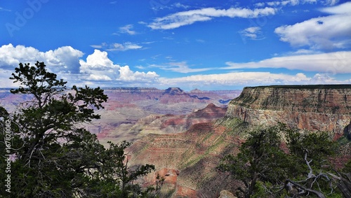 Blick vom Südrand des Grand Canyon
