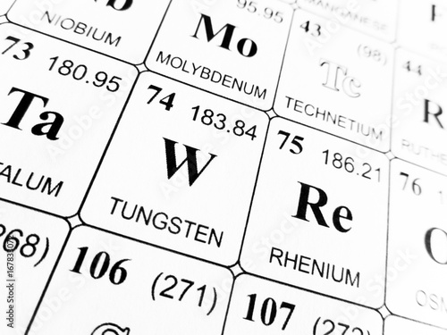 Bright buy photos ap images search tungsten on the periodic table of the elements urtaz Choice Image