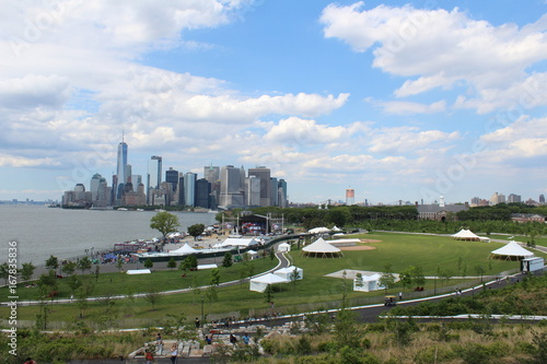 governors island new york Poster