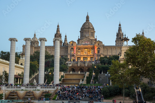 The National Palace in Barcelona