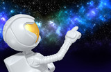 Astronaut The Original 3D Character Illustration - 167846697