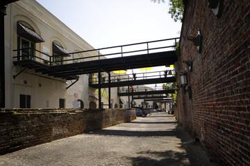 Alleyway in Savannah Georgia