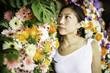 Quadro Flower Market Portrait