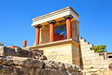 Knossos Palace ruins. Heraklion, Crete, Greece.