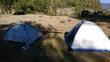 Camping Tente Isolé Désert