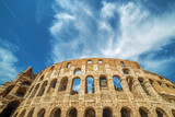 View outside the Colosseum, Rome, Italy - 167924466