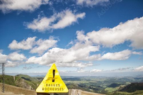 Foto op Canvas Bleke violet signalisation