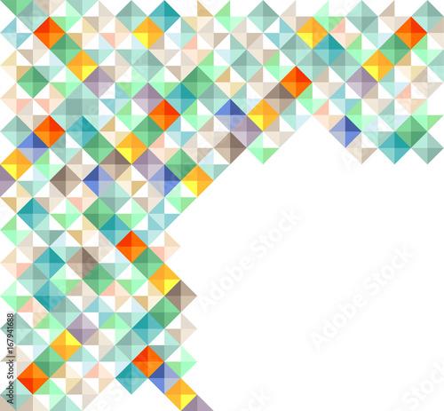 farbenfrohe Quadratelement, illustration
