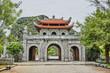 Quadro beautifull buddhist tempel in hanoi vietnam asia